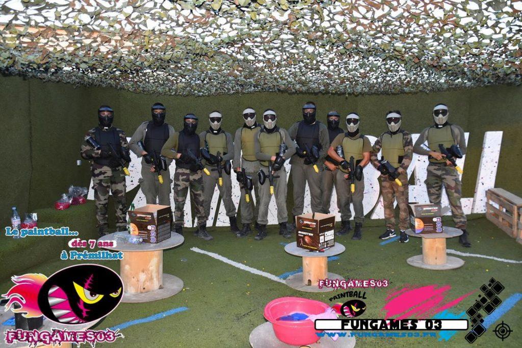 Paintball Spécial Groupes - CE - Elèves Gendarme ... FUNGAMES 03