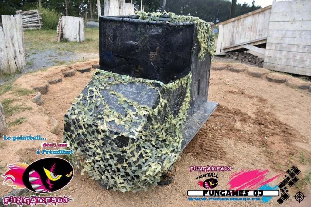 Le Mini Char Paintball FUNGAMES 03
